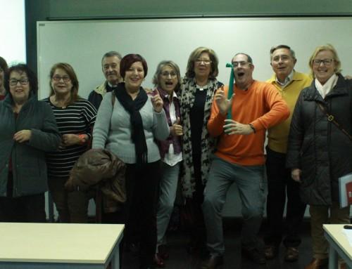 El sentido del humor, ya puede ser una asignatura. Aula senior de la universidad de Murcia.