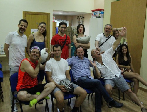 taller de risoterapia realizado en Murcia para particulares, 27 de Junio Miercoles. Adultos