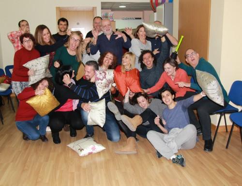 taller realizado:Risa y humor sábado 16 de Febrero (tarde) de 5:30h a 7:30h de la tarde.