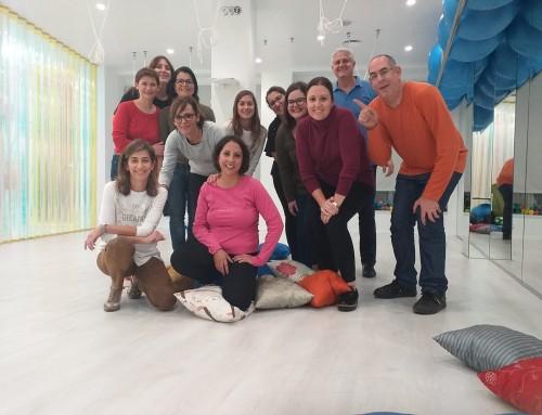 Taller de risoterapia y sentido del humor estuvo en Sense Pilates en Archena (Murcia) el pasado 25 de Octubre.